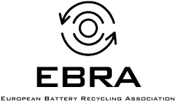Logo EBRA - Driving Best Practice in Battery Recycling
